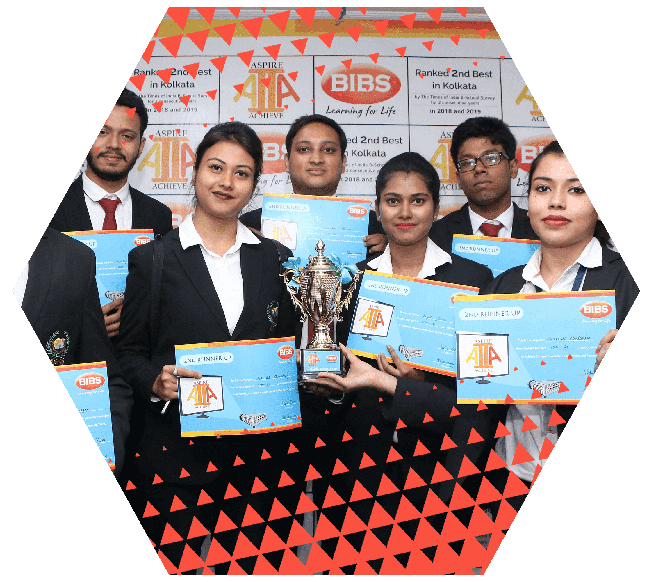 BIBS' successful students of MBA in Industry integrated business management